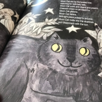 Moon Cat by Julie Anna Douglas